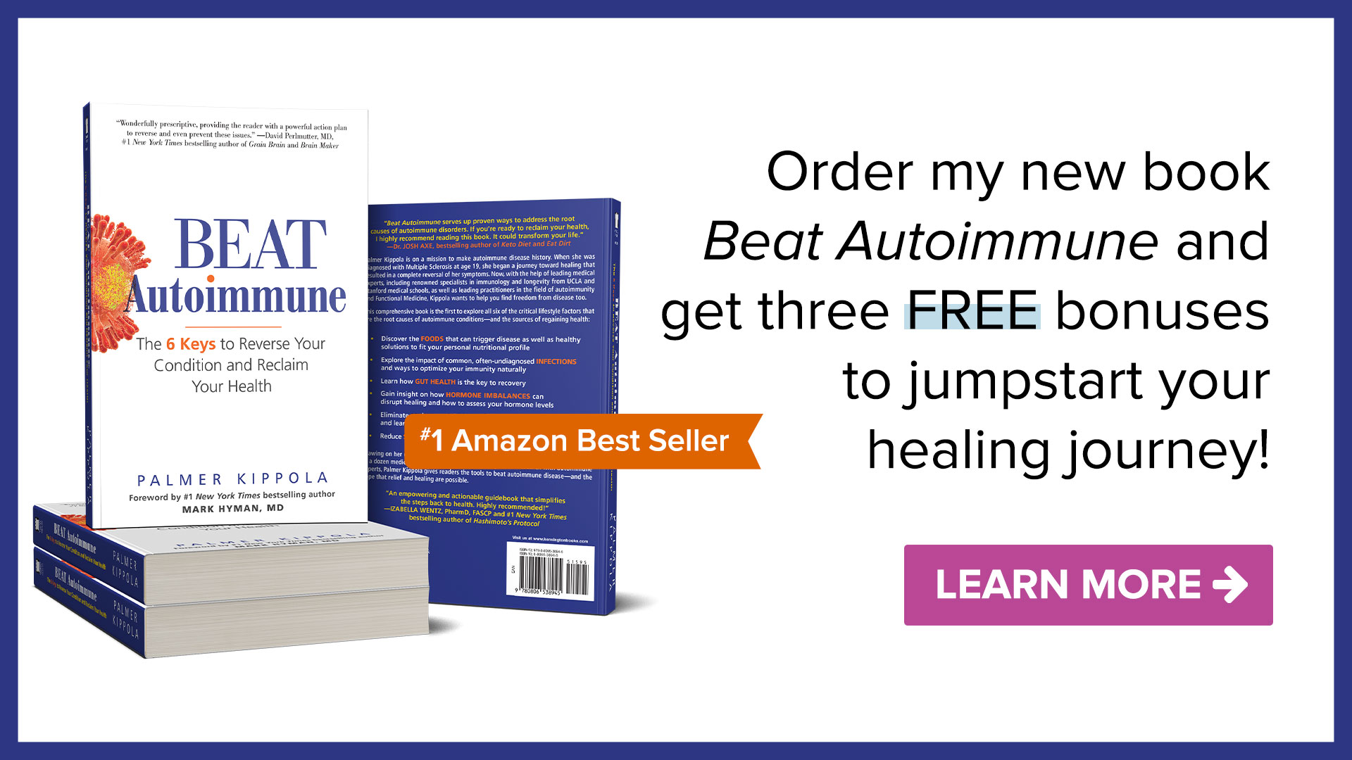 Beat Autoimmune Amazon Best Seller
